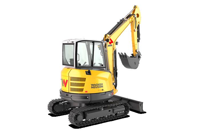 Mini and compact Excavator